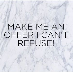 Other - Make me an offer on anything!!